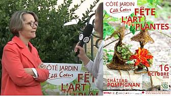 Côté Jardin Côté Coeur fête l'art des plantes - L'art au Jardin à l'honneur à Pompignan